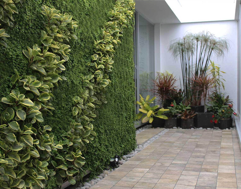 Proyectos jard n vertical jardines verticales for Beneficios de los jardines verticales