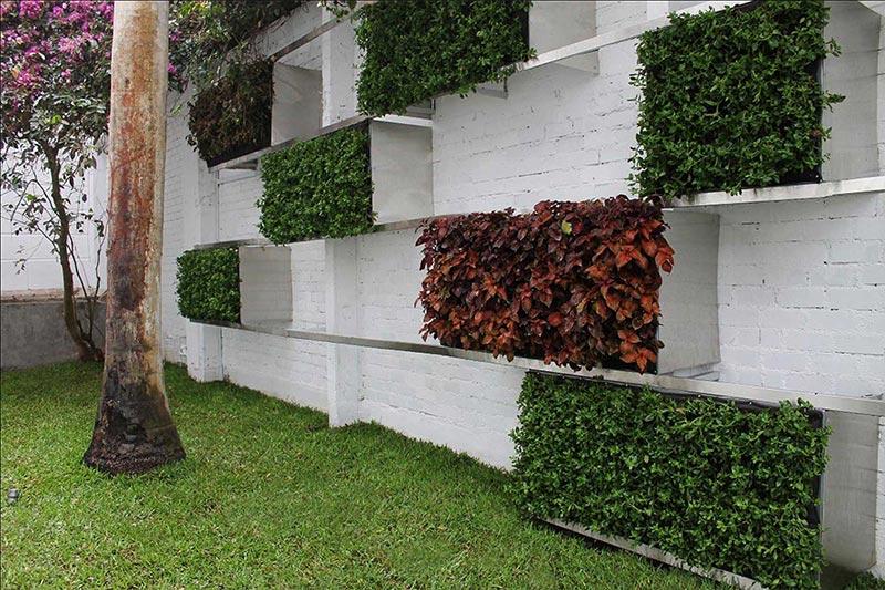 Proyectos jard n vertical jardines verticales for Proyecto jardines verticales